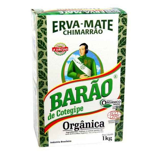 Erva Mate Barao Organica 1000g