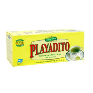 Mate Cocido Playadito 25 Tea Bags
