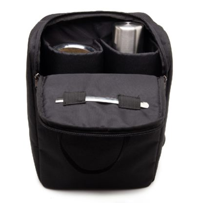 Una Mochila Matera Black inside pockets