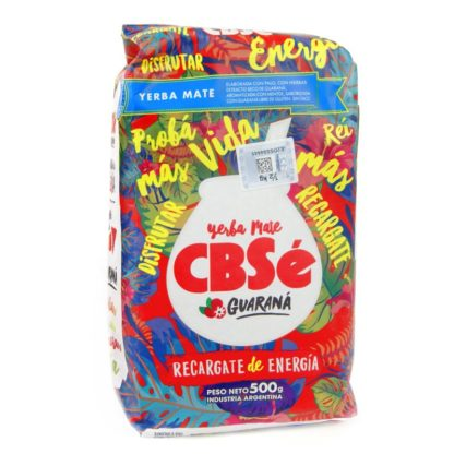 Yerba Mate Cbse with Guarana 500g