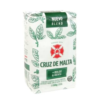 Yerba Mate Cruz de Malta Boldo and Menta 500g