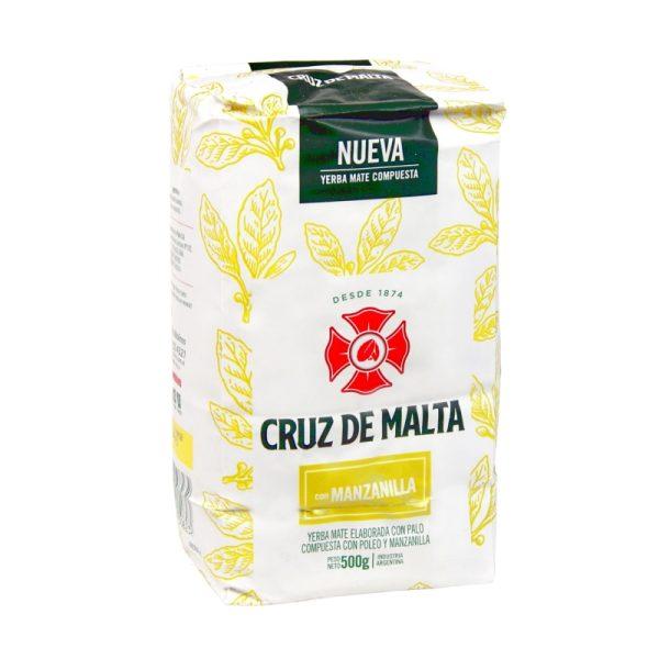 Yerba Mate Cruz de Malta Manzanilla 500g