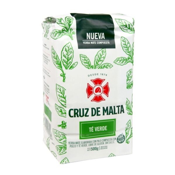 Yerba Mate Cruz de Malta Te Verde 500g