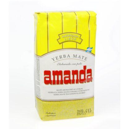 Yerba Mate Amanda Limon (Lemon) 500g