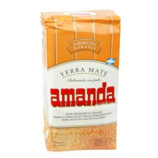 Yerba Mate Amanda Naranja (Orange) 500g
