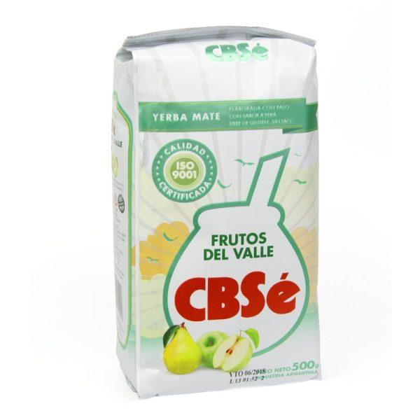 Yerba Mate Cbse Frutos del Valle (Valley Fruits) 500g
