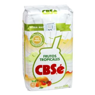 Yerba Mate Cbse Frutos Tropicales (Tropical Fruits) 500g