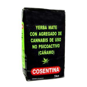 Yerba Mate Cosentina con Cannabis 1000g
