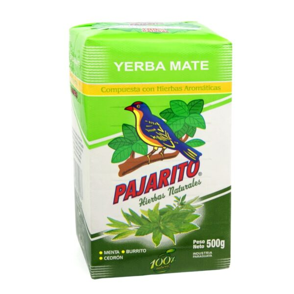 Yerba Mate Pajarito Compuesta (Herbal) 500g