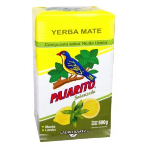 Yerba Mate Pajarito Menta Limon (mint & lemon) 500g