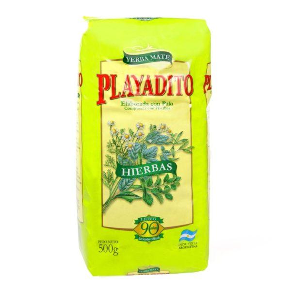 Yerba Mate Playadito Hierbas (Herbs) 500g