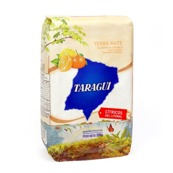 Yerba Mate Taragui Citricos del Litoral (Citrus) 500g