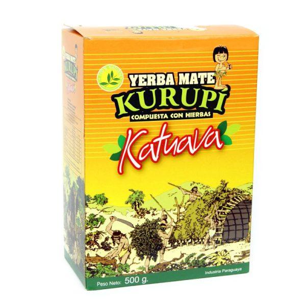 Yerba Mate Kurupi Katuava 500g