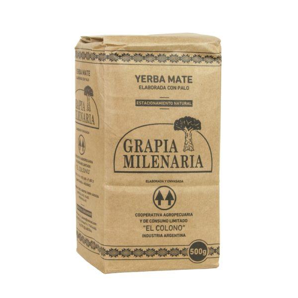 Yerba Mate Grapia Milenaria 500g